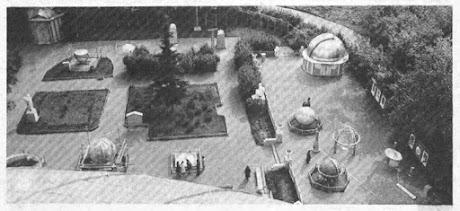Астрономическая площадка Московского планетария. 70-е годы