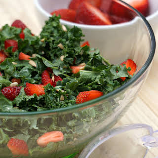 Kale Strawberry Salad.
