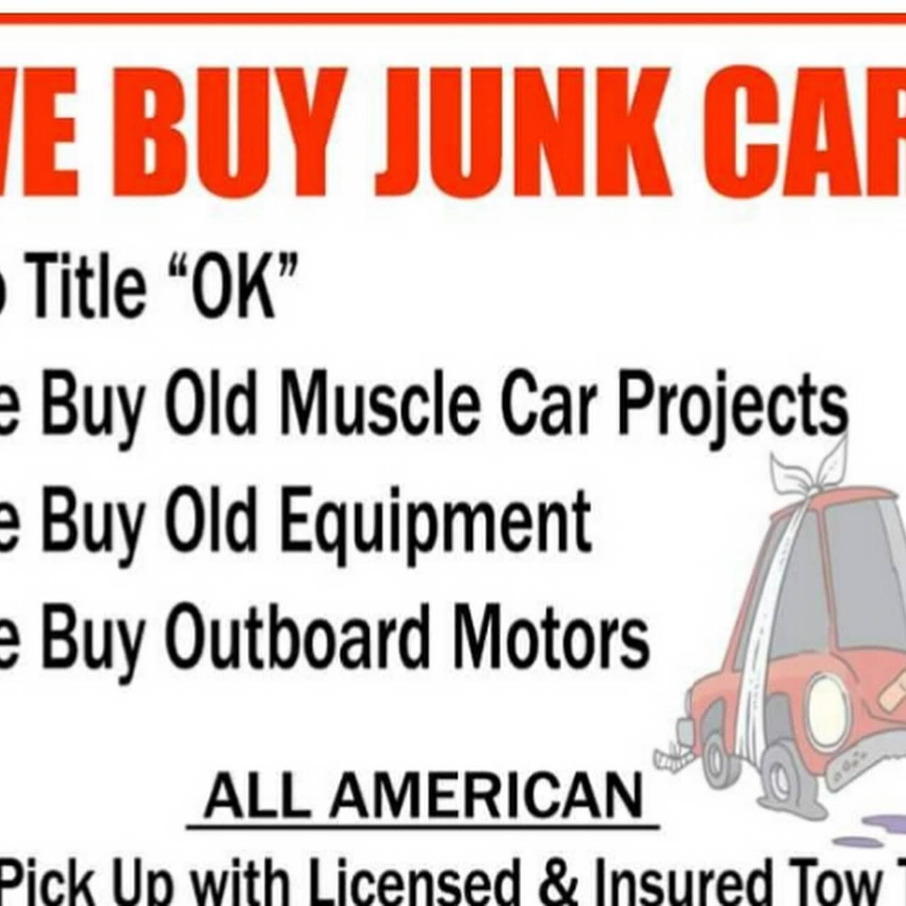 We Buy Junk Cars Trucks - Junkyard in Palm beach gardens