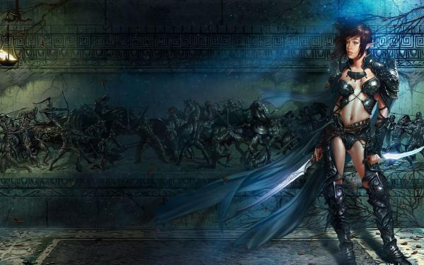 Mysterious Berserk, Warriors 2