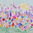 Holly Bloom's Garden: Garden Painting