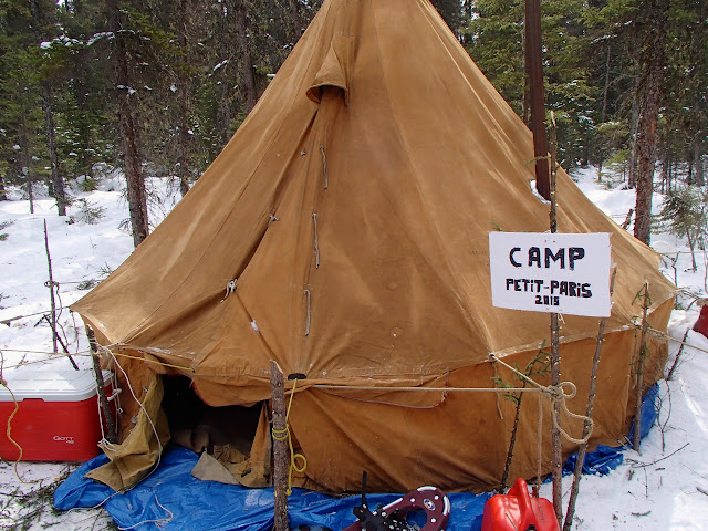 Pictures taken last March during our little expedition & A question about tents... - Skandic / Expedition - DOOTalk Forums