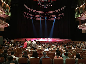 Singapore - the Esplanade concert hall again and always a pleasure!