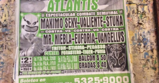 Mexico City: Wrestling Night!
