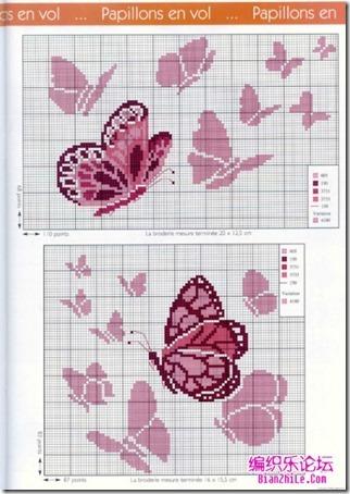 mariposas punto cruz (2)