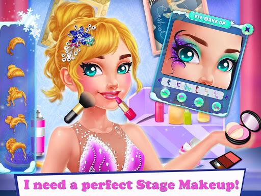 Ice Skating Ballerina: Dress up & Makeup Girl Game 1.0 screenshots 2