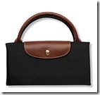 Longchamp large foldaway Le Pliage bag