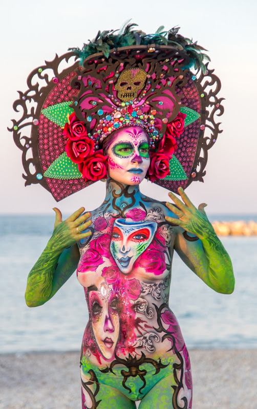 IMG_5119 Color Sea Festival Bodypainting 2018