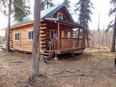 Birch Lake Cabin  Alaska Lake Cabins 2012
