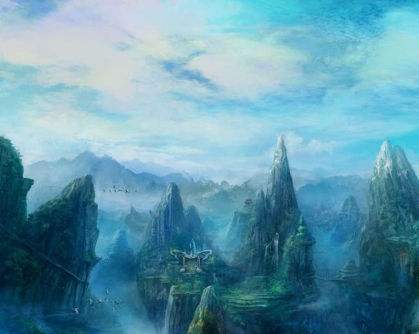 Horror Landscape From Dream, Magical Landscapes 6