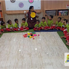 Introduction to Circle by Nursery Morning Section at Witty World, Chikoowadi