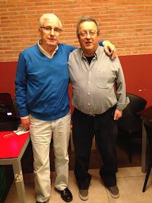 Flores Perona y Rafael Martín, Campeones del CAMPEONATO MUS RESTAURANTE LA RUTA