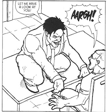 A panel from Good Cop, Bad Cop