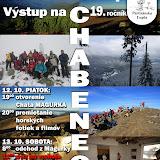 Výstup na CHABENEC 2012