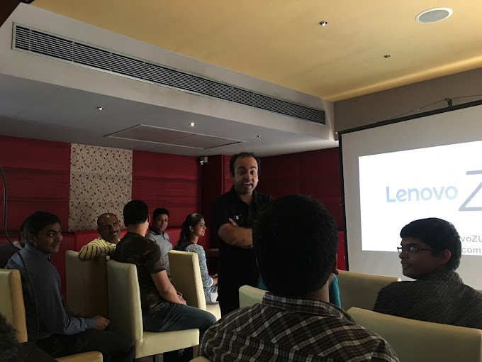 The Lenovo ZeeUK (ZUK) Z1 launch story