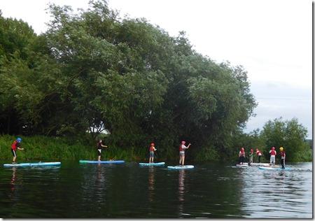 10 paddleboarding class