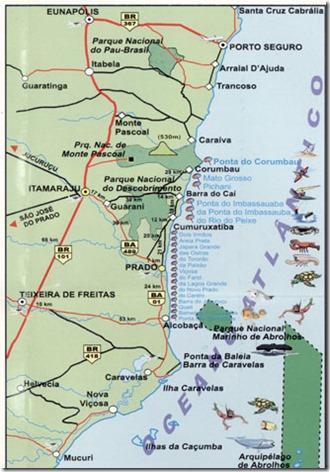 bahia-prado-Mapa-Praias