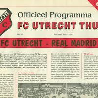 FCU Programmaboekjes 1991-92