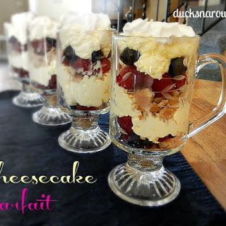 Cheesecake Berry Parfait