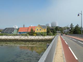 Госпорт. На мосту. Вид на город.