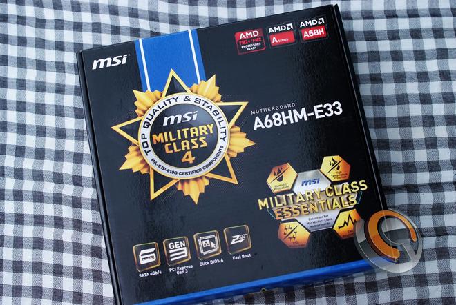 Mainboard MSI A68HM-E33, thay thế và tiên tiến hơn chipset AMD A58 - 75394