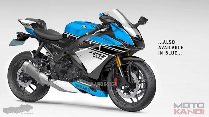 2022 Yamaha YZF- R9 design By motokandi Video released.