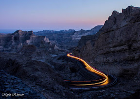 Late evening beauty of Buzi Pass, Balochistan.