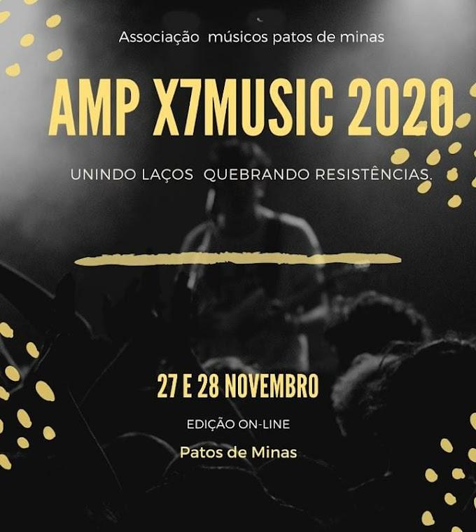 Festival da Associação dos Músicos de Patos de Minas reúne rappers e músicos de diversos segmentos