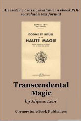 Cover of Eliphas Levi's Book The Ritual Of Transcendental Magic