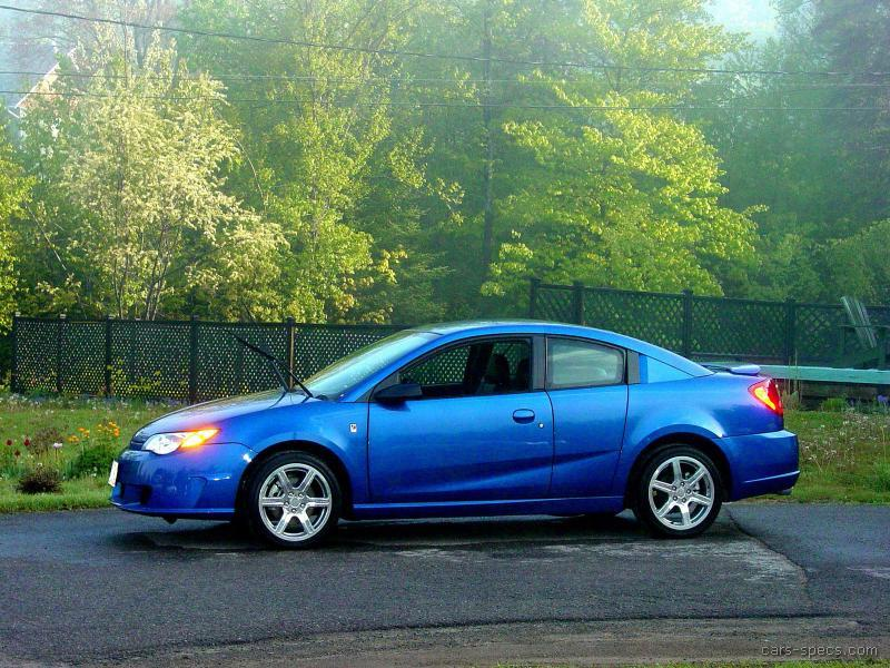 2007 Saturn Ion Red Line Specifications Pictures Prices