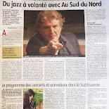 Revue de presse Au Sud Du Nord
