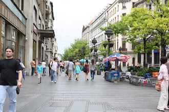 Photo: Day 81 - Shopping Area in Belgrade