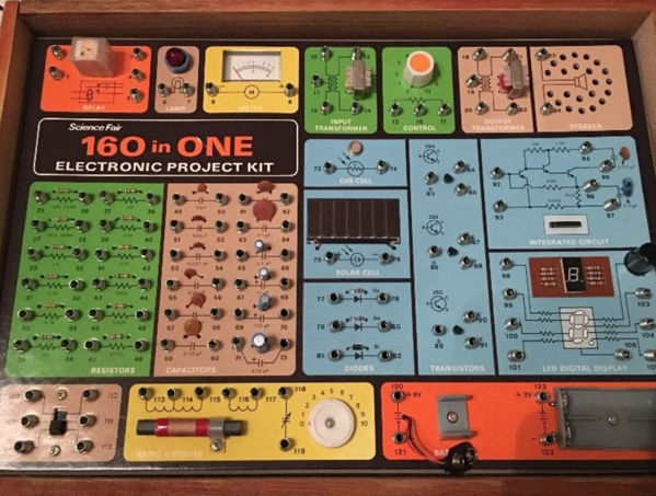 160 in one Electronic Kit