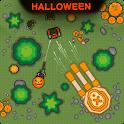 Zombie Battle Royale : 2D Tower Defense Offline TD icon