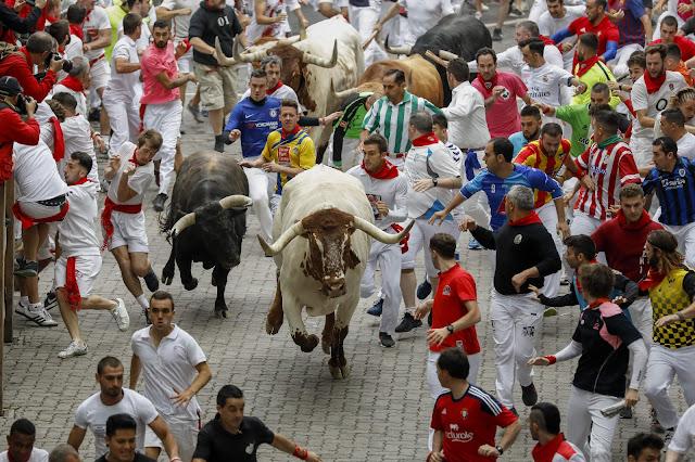 Spain Bull Festival