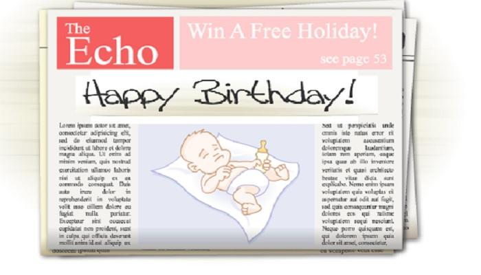 Say Happy Birthday On Blog Or On Add Sense