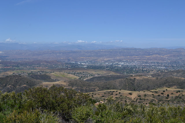 fire road and Simi Valley