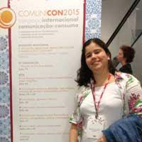 Amanda Aouad no ComuniCON ESPM - 2015