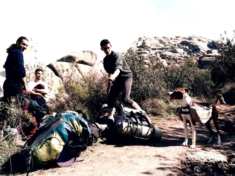 2000 · La Pedriza, camino del Yelmo