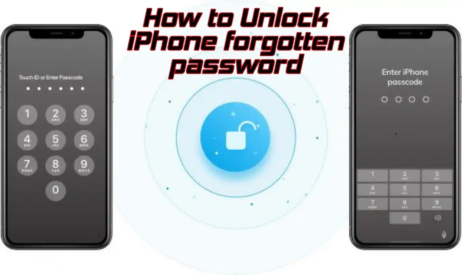 How to unlock an iPhone you've forgotten the password to, even if it's disabled