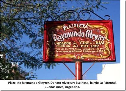 Plazoleta Raymundo Gleyzer - Paternal