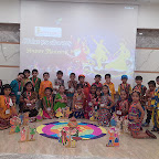 Navratri Celebration by Jr Kg Section at Witty World, Chikoowadi (2018-19)