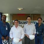 O ex-governador Germano Rigotto em visita a planta da Braskem, no Pólo de Camaçari, na Bahia, 06 de junho 2007. Foto: Edison Terra.
