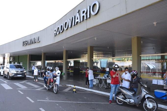 Feriado da Independência terá vacinação contra covid-19 no drive-thru do Terminal Rodoviário de Birigui