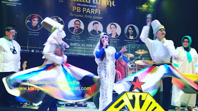 sewa tari sufi tanura gambus,murah,bagus jakarta Dok. Silaturahmi PB Parfi warung rakyat nusantara kranggan