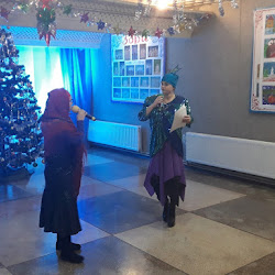 """Развлекательная программа """"Очень старый Новый Год"""" Черноморский РДК"""