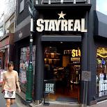 stay real store in Harajuku in Harajuku, Tokyo, Japan