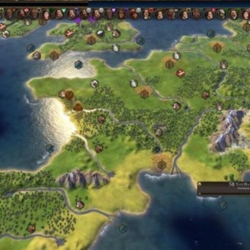 Irre Civilization VI Karte gestaltet die Erde nach, bringt Grafikkarten zum Schmelzen
