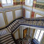 Musée de l'Île-de-France : escalier