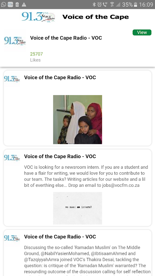 Voice of the Cape- screenshot
